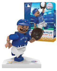 Toronto Blue Jays Kevin Pillar Toy Figurine by OYO Sports Toys