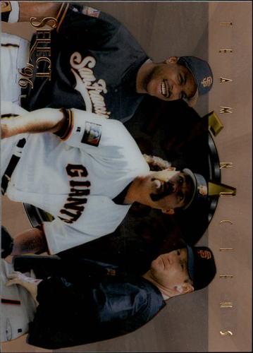 Photo of 1996 Select Team Nucleus #18 Bonds/Williams/Beck