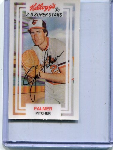 Photo of 1983 Kellogg's #39 Jim Palmer