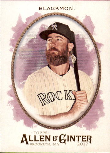Photo of 2017 Topps Allen and Ginter #234 Charlie Blackmon