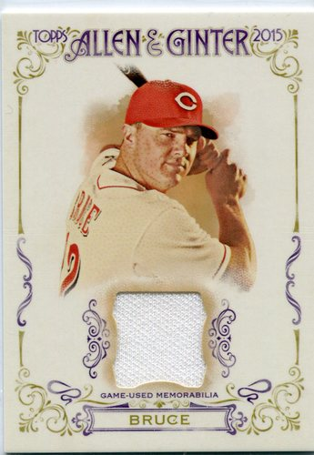 Photo of 2015 Topps Allen and Ginter Relics Jay Bruce -- Indians post-season