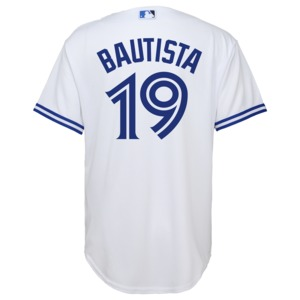 Toronto Blue Jays Youth Cool Base Replica Jose Bautista Alternate Jersey by Majestic