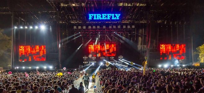 FIREFLY MUSIC FESTIVAL VIP TICKETS - PACKAGE 1 of 4