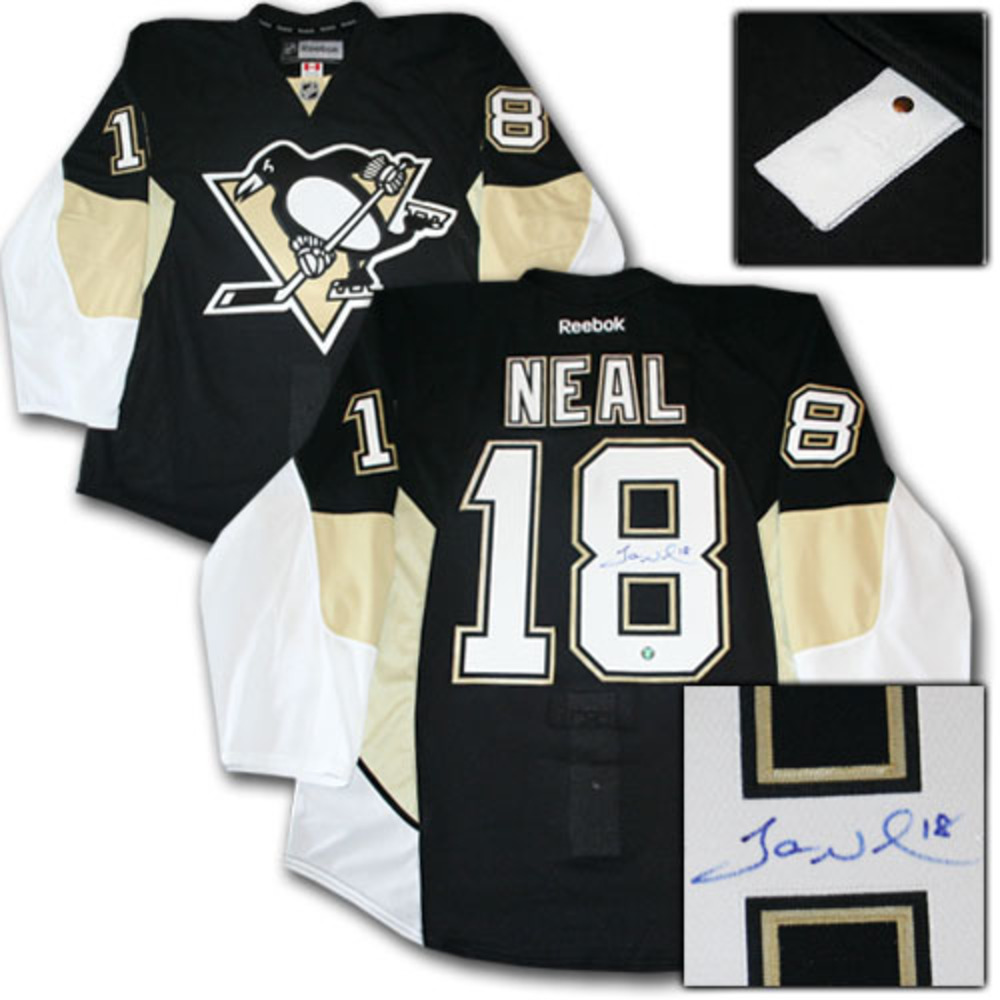 James Neal Autographed Pittsburgh Penguins Authentic Pro Jersey