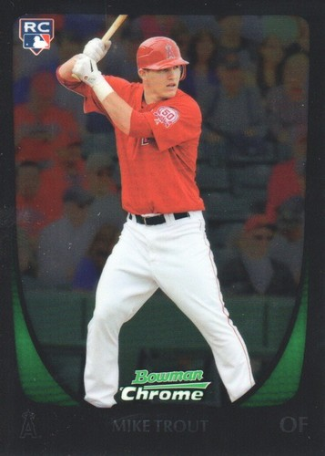 Photo of 2011 Bowman Chrome #175 Mike Trout RC