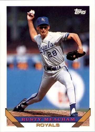 Photo of 1993 Topps #321 Rusty Meacham