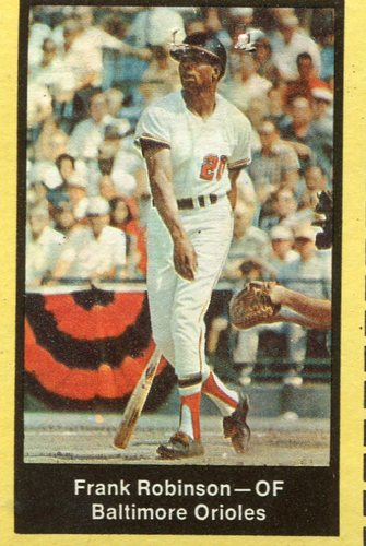 Photo of 1969 Nabisco Team Flakes #19 Frank Robinson S3