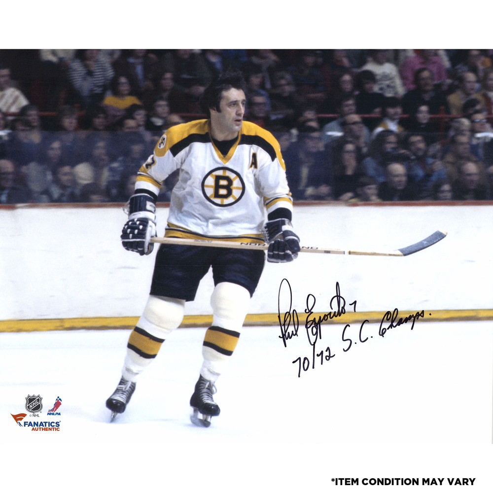 Phil Esposito Boston Bruins Autographed 16