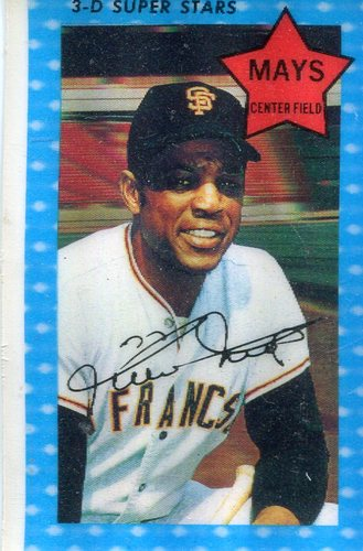 Photo of 1971 Kellogg's #10 Willie Mays