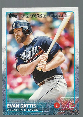 Photo of 2015 Topps #58 Evan Gattis FS