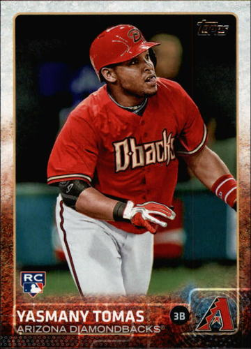 Photo of 2015 Topps #542 Yasmany Tomas RC
