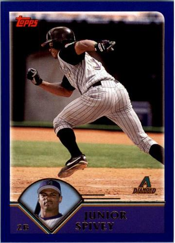 Photo of 2003 Topps #227 Junior Spivey