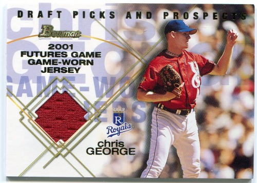Photo of 2001 Bowman Draft Futures Game Relics #FGRCG Chris George