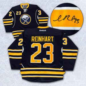Sam Reinhart Buffalo Sabres Autographed Reebok Premier Hockey Jersey *Size Medium*