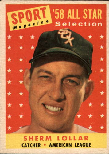 Photo of 1958 Topps #491 Sherm Lollar AS