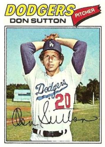 Photo of 1977 Topps #620 Don Sutton