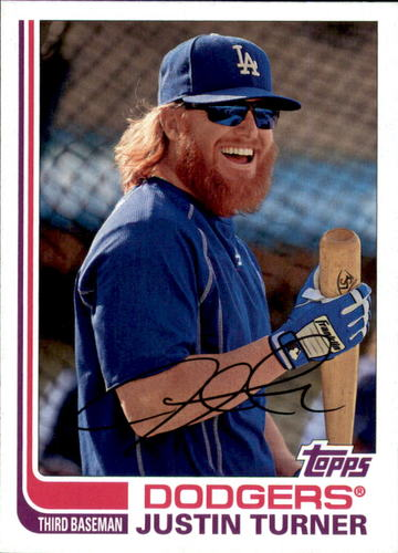 Photo of 2017 Topps Archives #182 Justin Turner