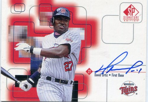 Photo of 1999 SP Signature Autographs David Ortiz
