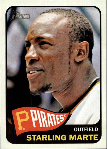 Photo of 2014 Topps Heritage #205 Starling Marte