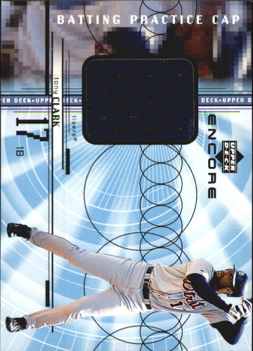 Photo of 1999 Upper Deck Encore Batting Practice Caps #CTC Tony Clark