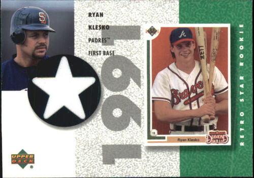 Photo of 2002 UD Authentics Retro Star Rookie Jerseys #SRRK Ryan Klesko