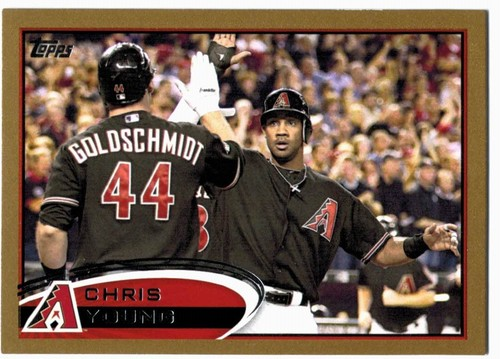 Photo of 2012 Topps Gold #643 Chris Young