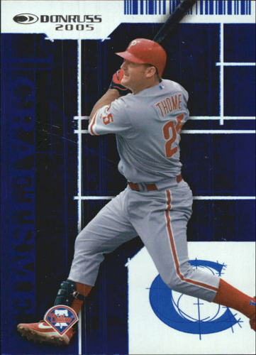 Photo of 2005 Donruss Craftsmen #11 Jim Thome