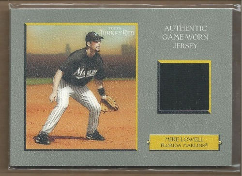 Photo of 2005 Topps Turkey Red Relics #ML Mike Lowell Jsy H