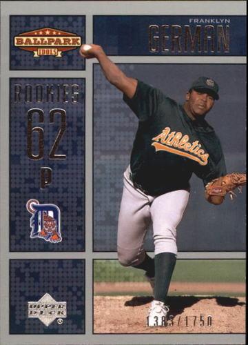 Photo of 2002 Upper Deck Ballpark Idols #201 Franklyn German ROO RC