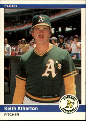 Photo of 1984 Fleer #437 Keith Atherton