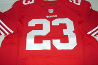 49ERS - REGGIE BUSH SIGNED AUTHENTIC 49ERS JERSEY - SIZE 44