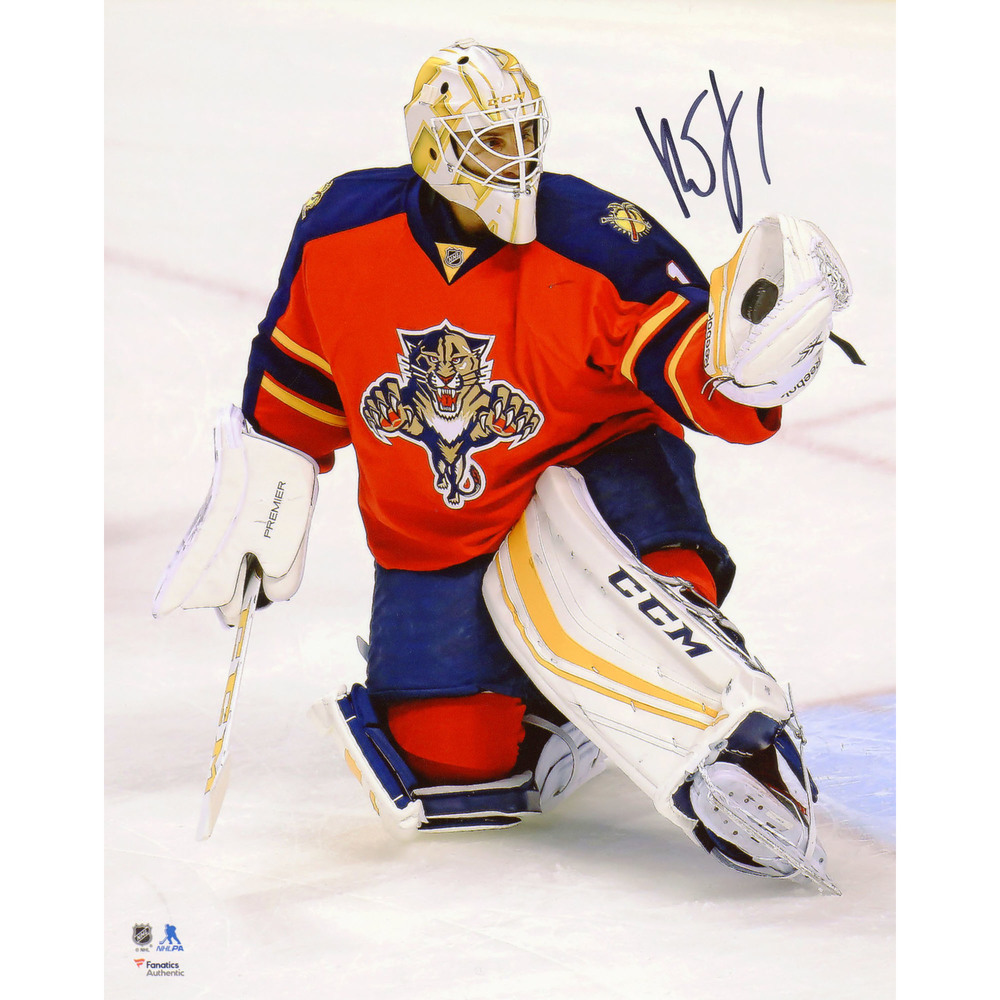 Roberto Luongo Florida Panthers Autographed 8