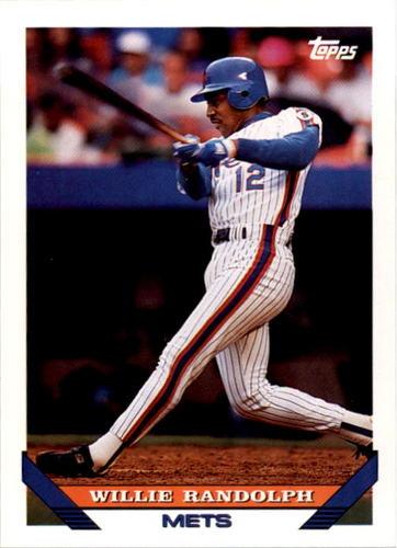 Photo of 1993 Topps #324 Willie Randolph