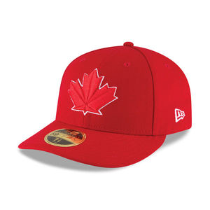 Toronto Blue Jays AC Game Alt 2 Low Crown Fitted Cap Red by New Era
