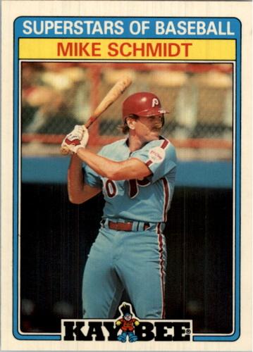 Photo of 1987 Kay-Bee #29 Mike Schmidt