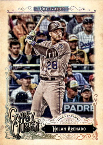 Photo of 2017 Topps Gypsy Queen #252A Nolan Arenado