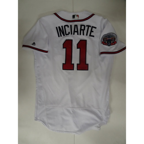 Photo of Ender Inciarte Game-Used Jersey Worn on Opening Day at SunTrust Park - April 14, 2017