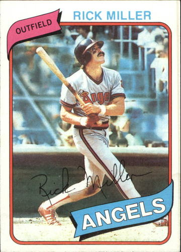 Photo of 1980 Topps #48 Rick Miller