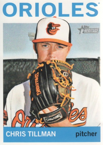 Photo of 2013 Topps Heritage #355A Chris Tillman