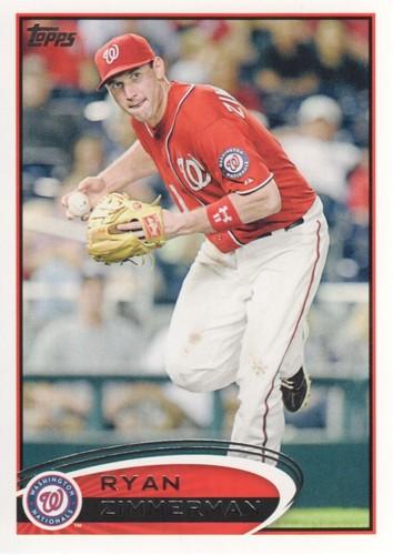Photo of 2012 Topps #386 Ryan Zimmerman