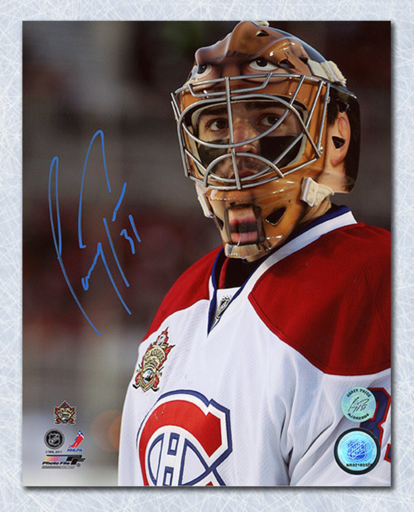 Carey Price Montreal Canadiens Autographed 2011 Heritage Classic 8x10 Photo
