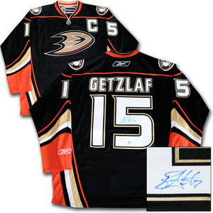 Ryan Getzlaf Autographed Anaheim Ducks Jersey