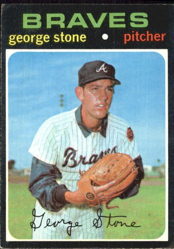 Photo of 1971 Topps #507 George Stone