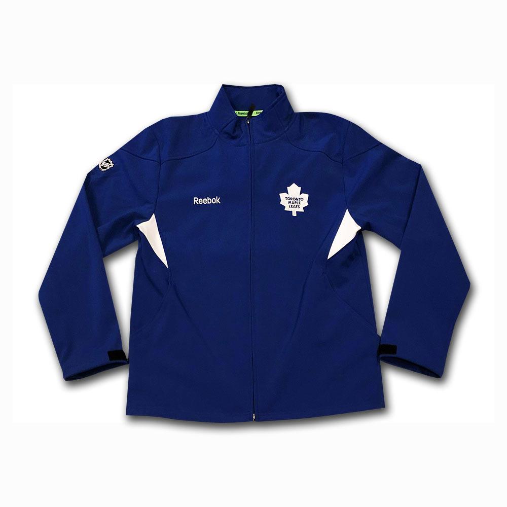 Mike Palmateer's Toronto Maple Leafs Reebok Jacket