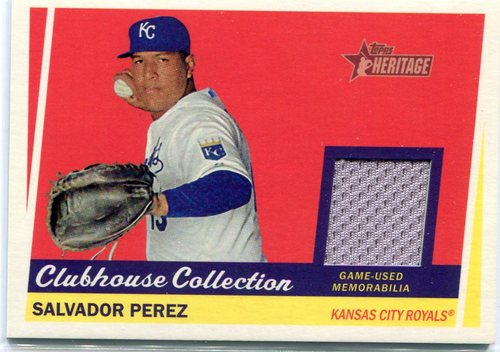 Photo of 2016 Topps Heritage Clubhouse Collection Relics game worn jersey Nolan Arenado