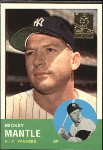 Photo of 1996 Topps Mantle Case #13 Mickey Mantle 1963 Topps