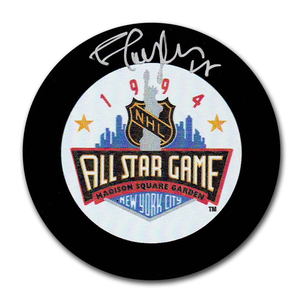 Shayne Corson Autographed 1994 NHL All-Star Game Puck