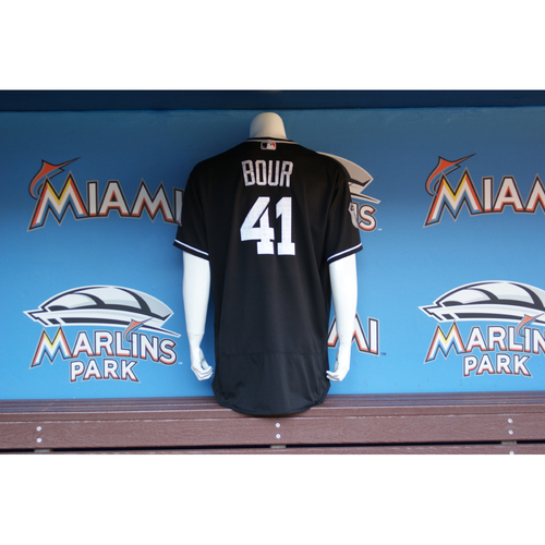 Photo of Justin Bour Spring Training Jersey