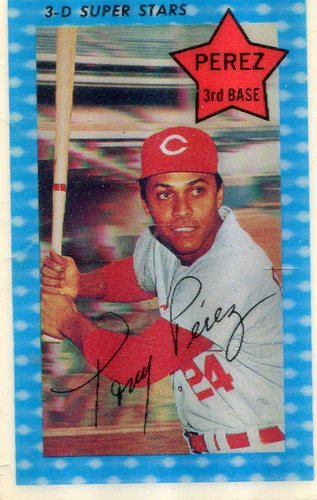 Photo of 1971 Kellogg's #58 Tony Perez