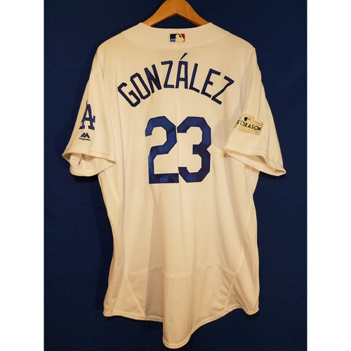Photo of Adrian Gonzalez Home 2017 Team-Issued Post Season Jersey